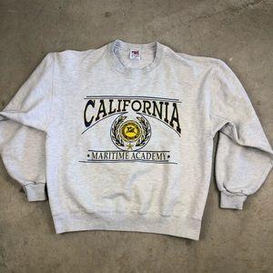Vintage California Maritime Academy Sweatshirt